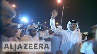 Thousands celebrate Sheikh Tamim homecoming in Qatar | Kholo.pk