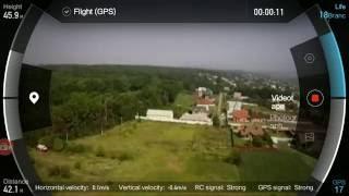 Xiaomi Mi Drone видео полетов + видео с приложения