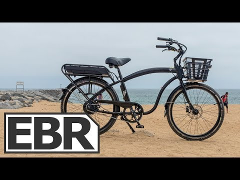 Electric Bike Company Model C Video Review – $1.9k Powerful Cruiser Electric Bicycle