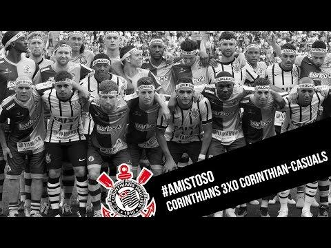 Corinthians 3x0 Corinthian-Casuals - #Amistoso