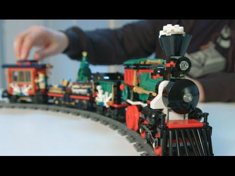 Holiday Train - LEGO Creator Expert - 10254 - Designer Video