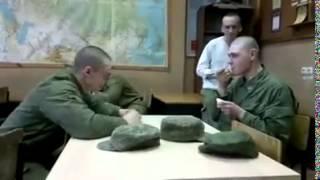 Армейский прикол с ложкой ! )))))))