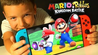 #5 МАРИО и БЕШЕНЫЕ КРОЛИКИ 🐰 Mario + Rabbids Битва За Королевство - Kingdom Battle Nintendo Switch