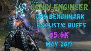 Guild Wars 2: [LN] Condi Engineer DPS Benchmark - Realistic Buffs - 35,6k | 16.05.2017