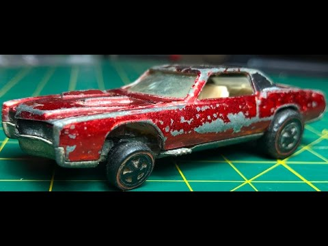Hot Wheels Redline Restoration How-To : 68 Custom Eldorado