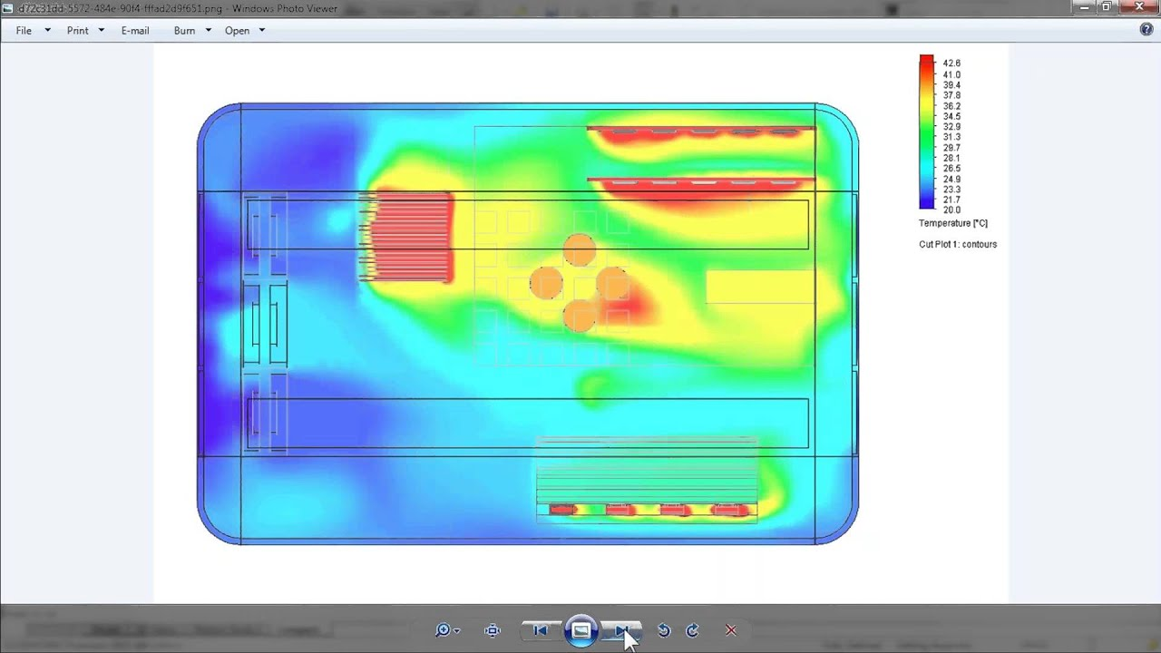 SOLIDWORKS Flow Simulation Electronic Cooling