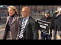 Betsy Devos Blocked From Entering Public School Video