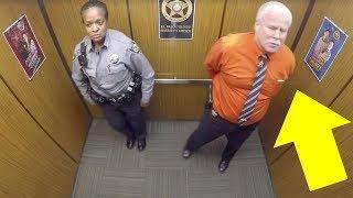 Yalnız Olduklarını Sanıyorlardı, Ancak Asansörde Gizli Kamera Olduğunu Bilmiyorlardı.