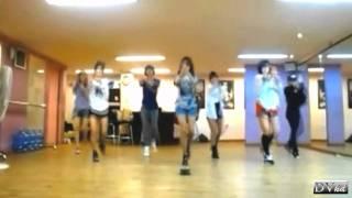 T-ara, T-ara - Roly-Poly (dance practice)