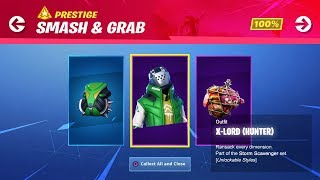 "NEW ""SMASH & GRAB"" Challenges Rewards!   Use Code: ByArteer (Fortnite Battle Royale LIVE)"