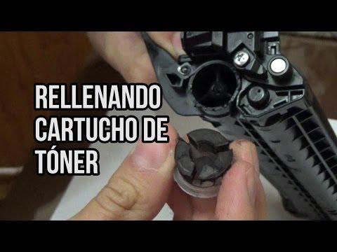 DIY: Rellenar cartucho de Tóner para impresoras Brother.