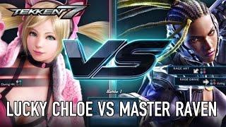 Lucky Chloe VS Master Raven