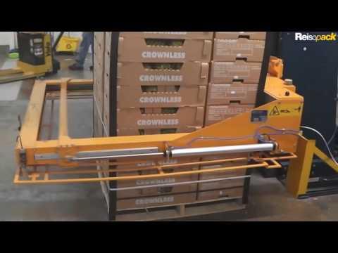 2903 Flejadora automática horizontal para palets