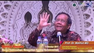 Merajut Kebhinnekaan, Meneguhkan Karakter Ke-Indonesiaan: Sambutan WR III UM