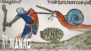 Why knights fought snails in medieval art