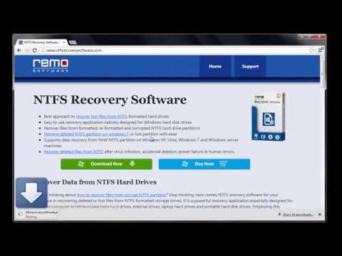 How to Retrieve Data from Deleted NTFS Partition