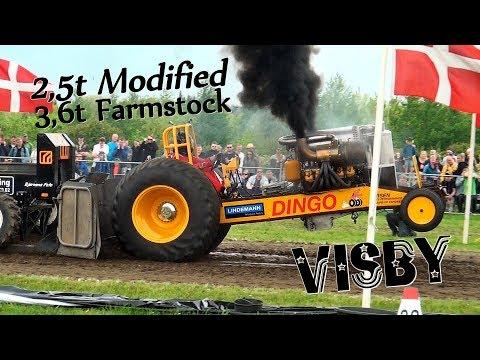 2,5t Modified / 3,6t Farmstock Visby 2018 Traktortraek