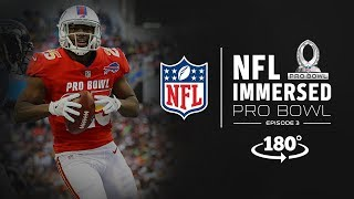 VR180º Experience the Pro Bowl from the Sidelines | Mike Daniels & LeSean McCoy Ep. 3 | NFL Immersed
