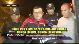 Trasladan a reos a penal de Cochamarca en Cerro de Pasco