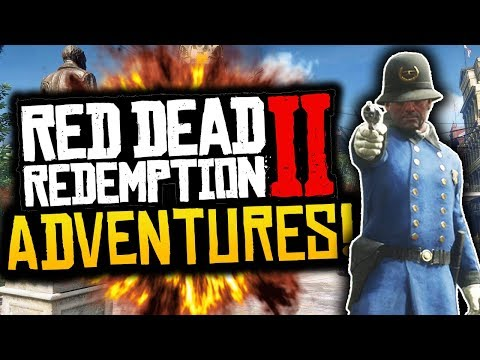 """Red Dead Redemption 2: Funny Moments! - #2 - """"TROUBLE IN SAINT DENIS!"""" - (RDR2 Adventures)"""