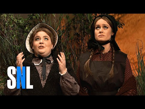 Cut for Time: Oregon Trail (Brie Larson) - SNL