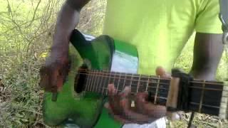 how to play maskandi guitar (zulu traditional music)