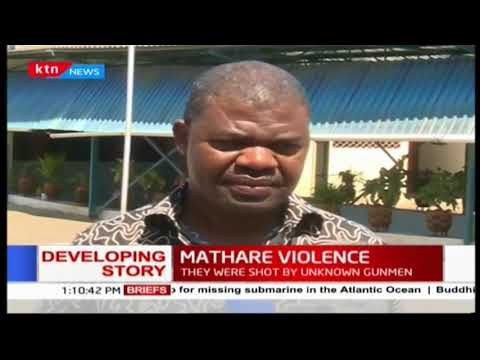 Ruaraka MP TJ Kajwang' speaks out about the riots in Mathare
