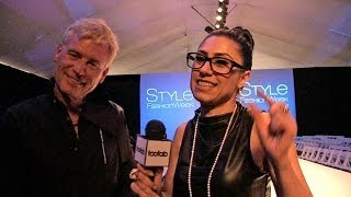 Joe Simpson Supports Model Jonathan Keith at Style Fashion Week L.A. | toofab