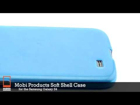 Mobi Products Soft Shell Case for Samsung Galaxy S4