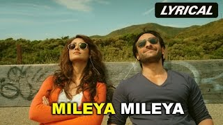 Mileya Mileya (Lyrical Video Song) | Happy Ending | Saif Ali Khan, Govinda & Ileana D'Cruz