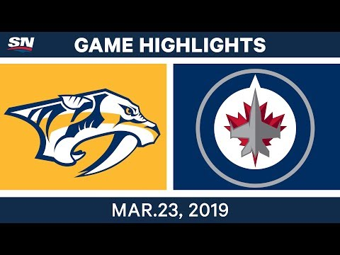 NHL Game Highlights | Predators vs. Jets – March 23, 2019