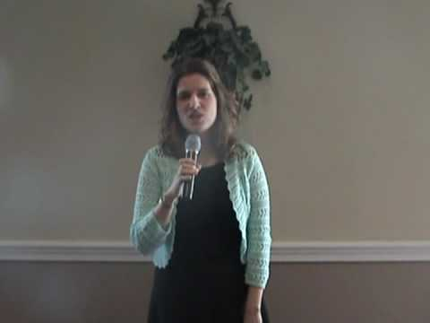 "My singing ""The Star Spangled Banner"" for an online competition"