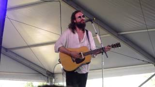 "Father John Misty: ""Now I'm Learning To Love War"" 2016 Newport Folk Festival (discusses rant)"