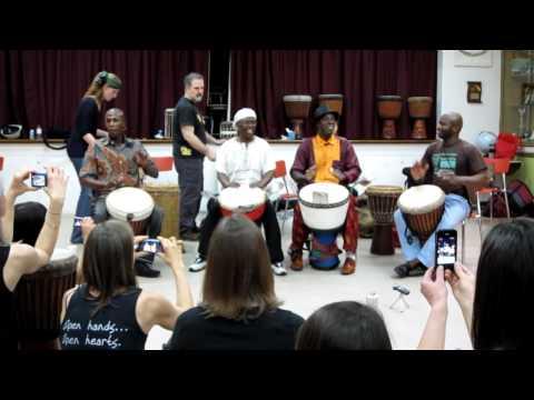 Mamady & Bolokada: Grand Masters Tour 2012 Toronto part 1