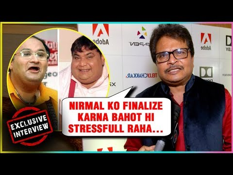 Asit Modi Talks About New Dr Hathi Nirmal Soni | T