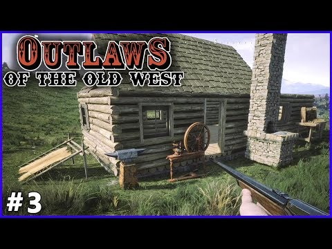 #3. De nouvelles constructions → Outlaws of the Old West (lets' play gameplay fr)