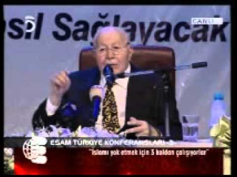 Prof.Dr.Necmettin Erbakan - Esam Konferansları - 11 Temmuz 2007 - 1nci Bl.