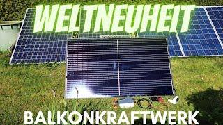 #Balkonkraftwerk  mit Schukostecker #Plug & Play Solaranlage Stromkosten senken #Photovoltaikanlage