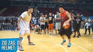 Helmet vs Zigzag 1 on 1 Basketball