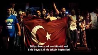 15 Temmuz Demokrasi Marşı (Sözleriyle)