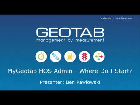 Geotab Drive Admin | Where Do I Start?