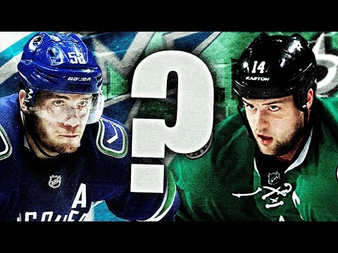 Jamie Benn POTENTIAL TRADE For Bo Horvat? Please No (Vancouver Canucks Trade Proposals, Rumours NHL)