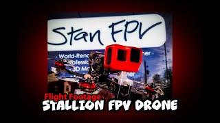 Stallion Drone - Flight Outside The Stan FPV Shop