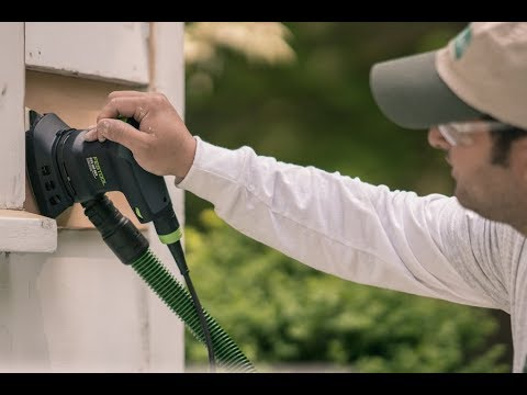 The Festool Dustless Sander