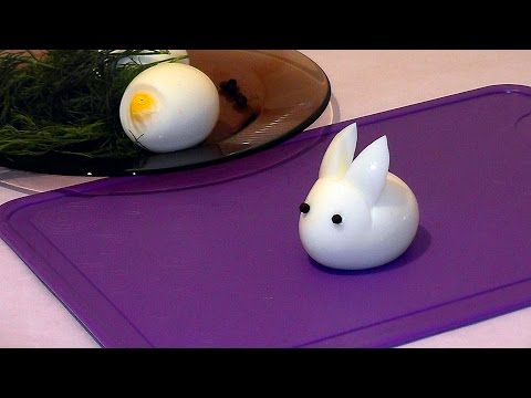 , title : 'How to make a hare (a rabbit) ♡ using an egg