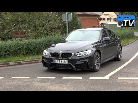 BMW M3 Sedan Full Drive & Sound Test
