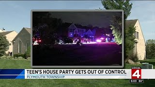 Teen's house party gets out of control