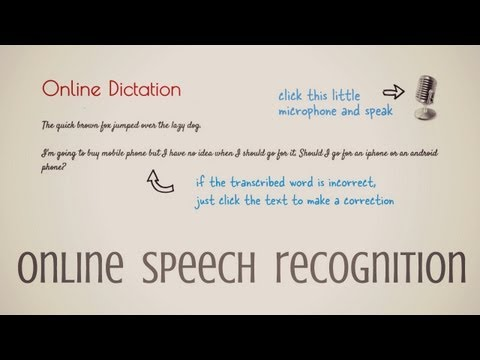 Dictation Is A Free Chrome Dictation App