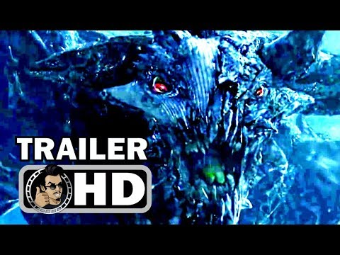 I KILL GIANTS Official Trailer (2018) Zoe Saldana Monster Movie HD