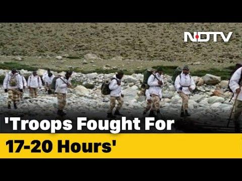 सैनिकों 17-20 घंटे के लिए लड़ाई लड़ी चीनी में लद्दाख के साथ: बॉर्डर फोर्स आई टी बी पी